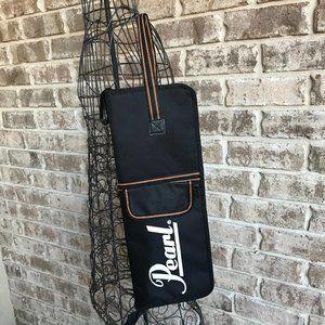 Pearl Drumstick Bag Holder Carrier Travel Case New